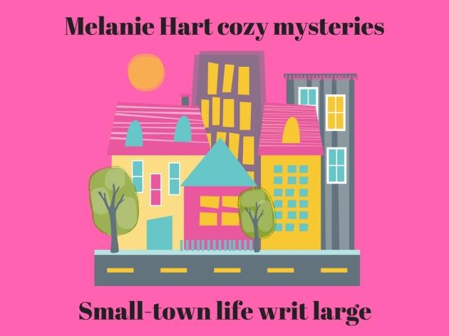 Melanie Hart cozy mysteries