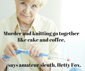 Murder and knitting